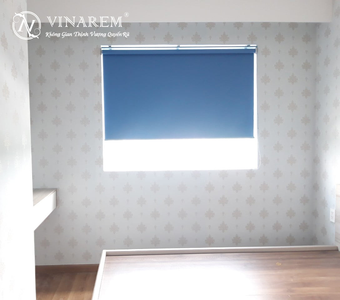RÈm cuốn màu xanh da trời dành cho cửa sổ | Vinarem
