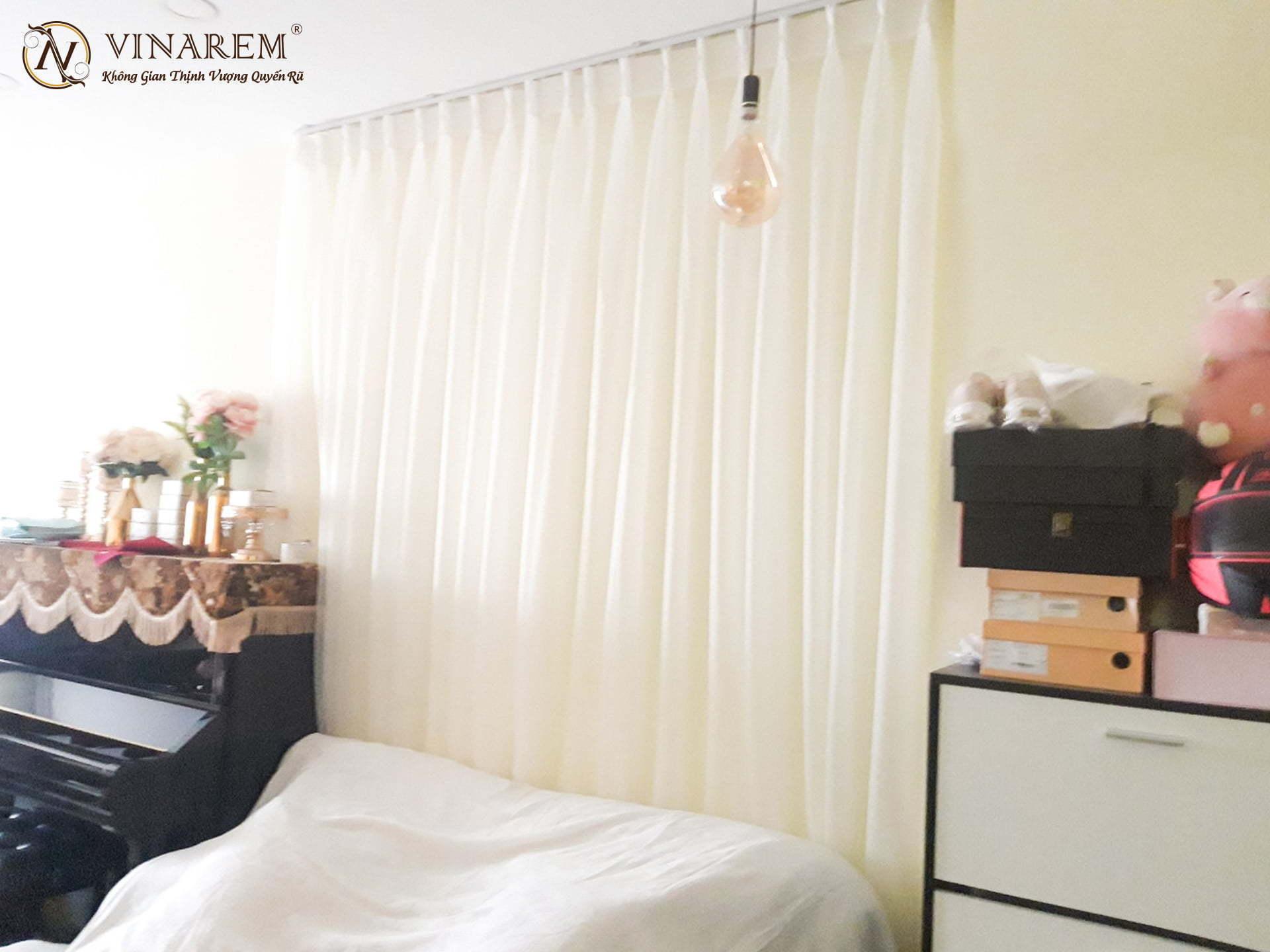Rèm voan cao cấp trang trí phòng ngủ | Vinarem