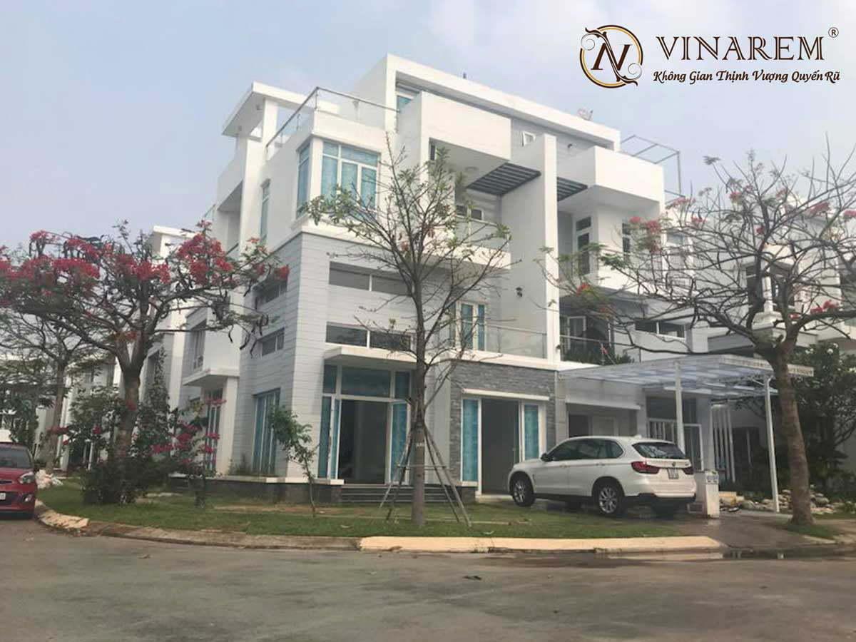 Công trình rèm biệt thự nhà chị Hương | Vinarem