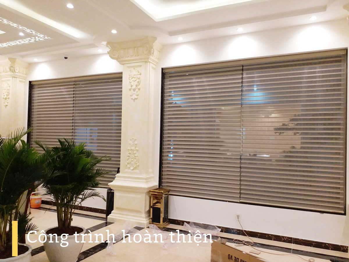 Công trình rèm cửa tại khách sạn Vạn Kim Long   Vinarem