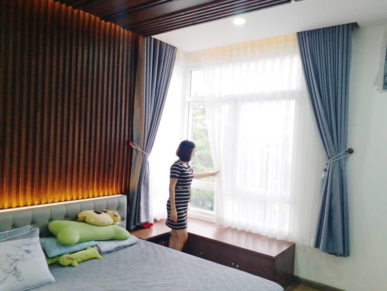 Công trình rèm biệt thự nhà chị Hương