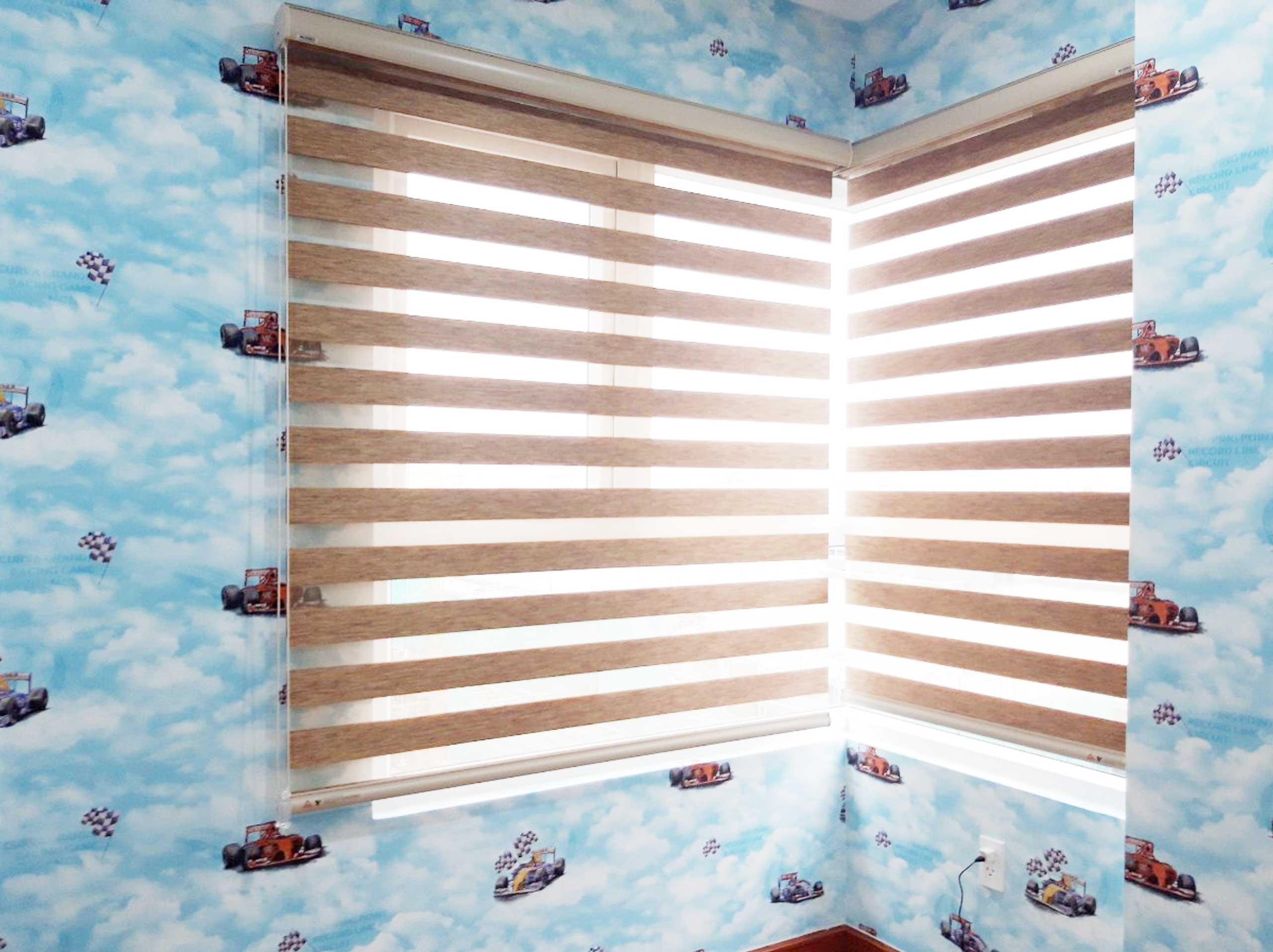 Rèm cầu vồng cho cửa sổ phòng ngủ