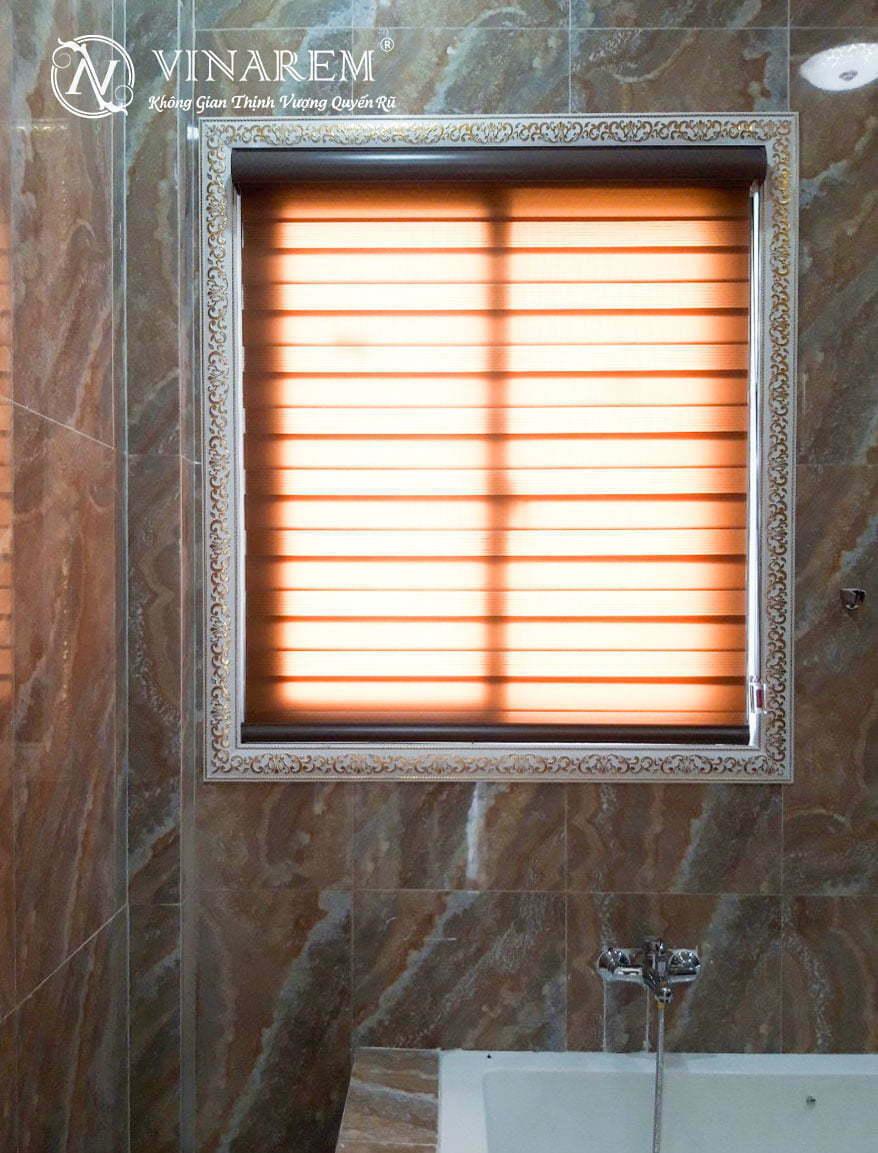 Rèm cầu vồng cao cấp cho cửa sổ phòng tắm | Vinarem