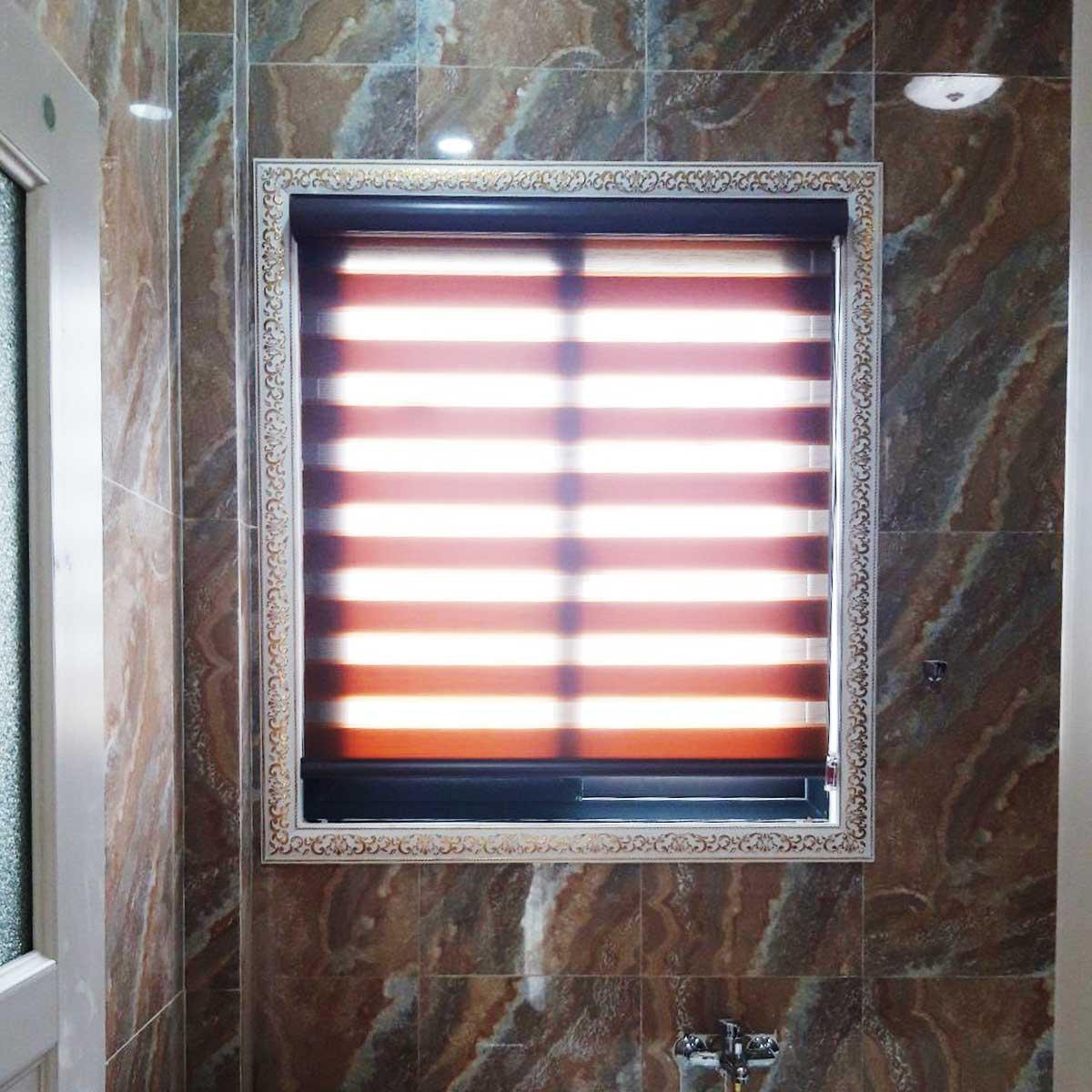 Rèm cầu vồng cao cấp cho cửa sổ phòng tắm