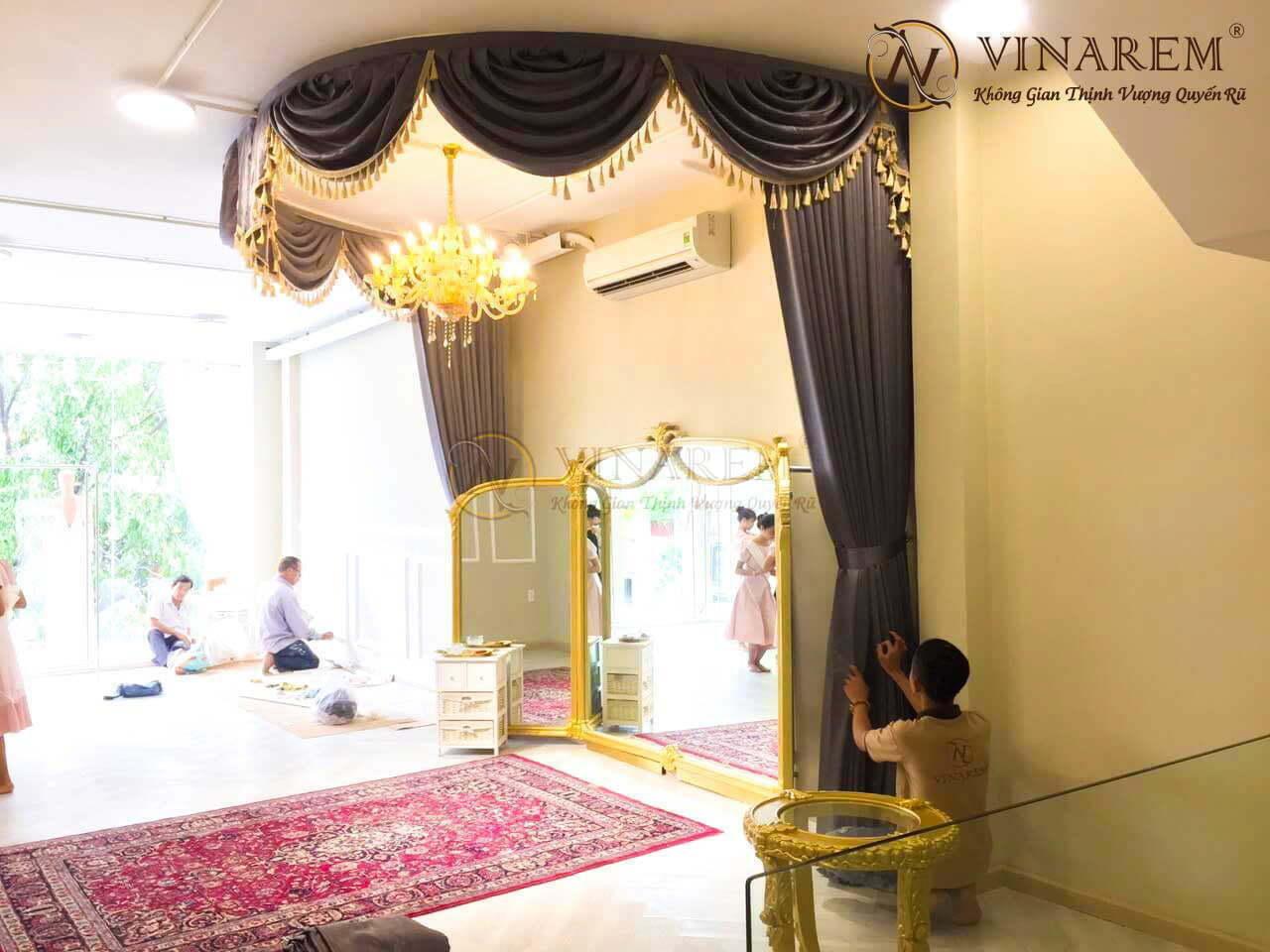 Rèm cổ điển sang trọng cho không gian biệt thự | Vinarem
