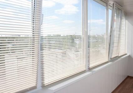 rèm sáo nhôm cửa sổ nhà phố