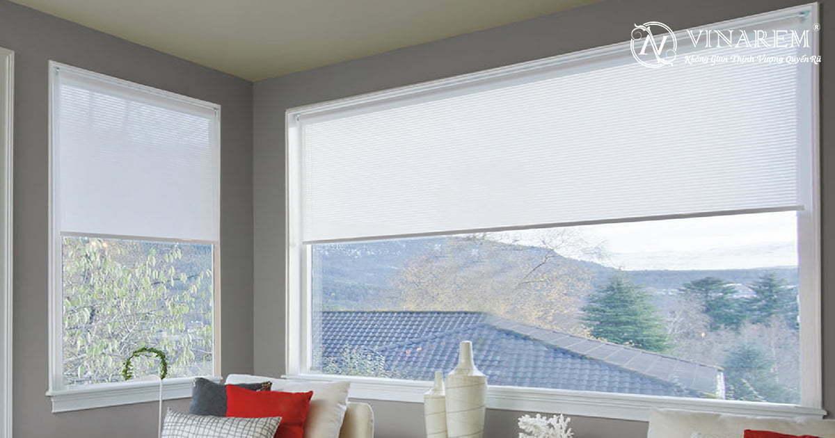Rèm cuốn cửa sổ cao cấp | Vinarem
