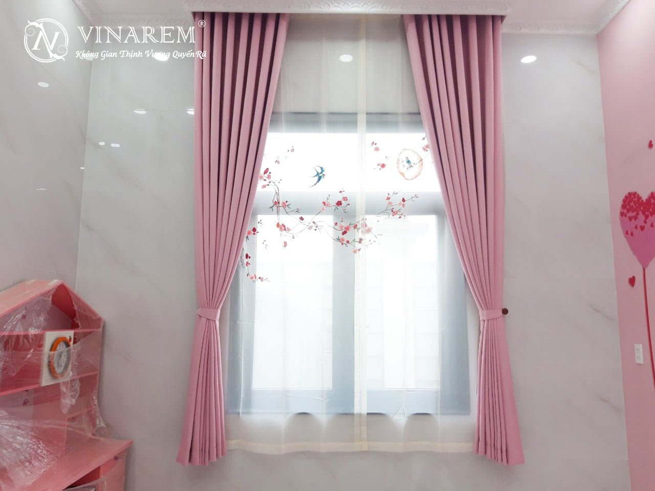Rèm thêu cao cấp dành cho phòng ngủ | Vinarem