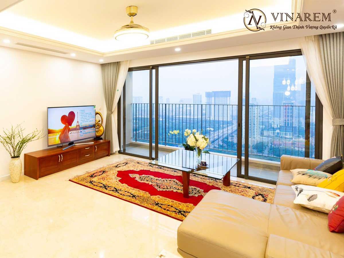 Rèm voan thêu cao cấp dành cho không gian chung cư cao cấp | Vinarem