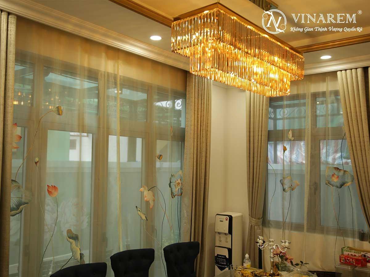 Rèm thêu cao cấp dành cho biệt thự | Vinarem