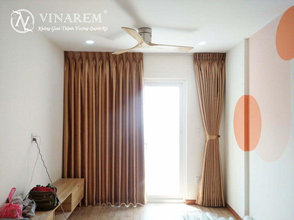Rèm vải một lớp màu sáng MY53F | Vinarem