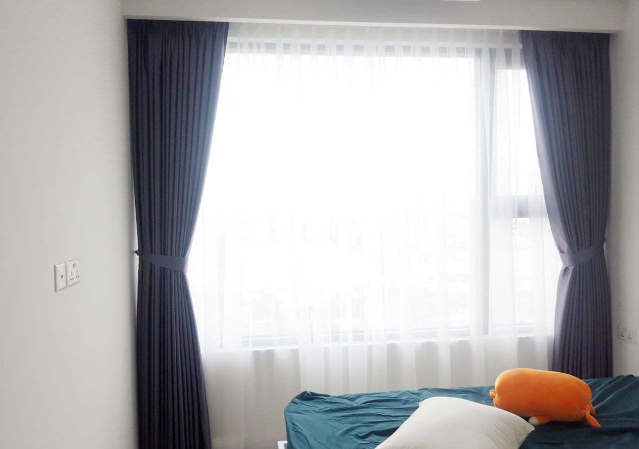 Rèm vải hai lớp cho phòng ngủ MY5522