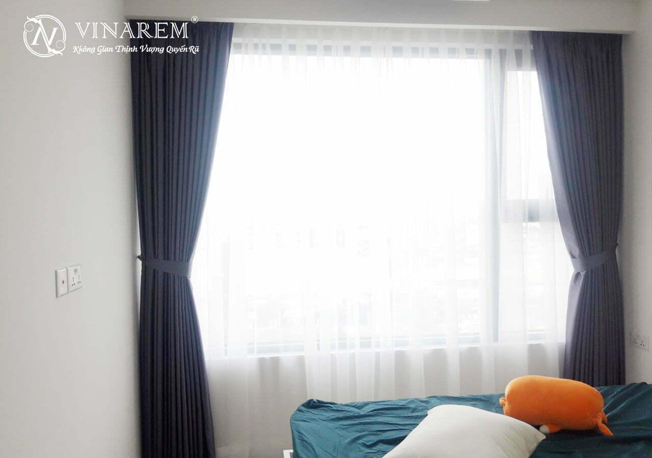 Rèm vải hai lớp cho phòng ngủ MY5522 | Vinarem