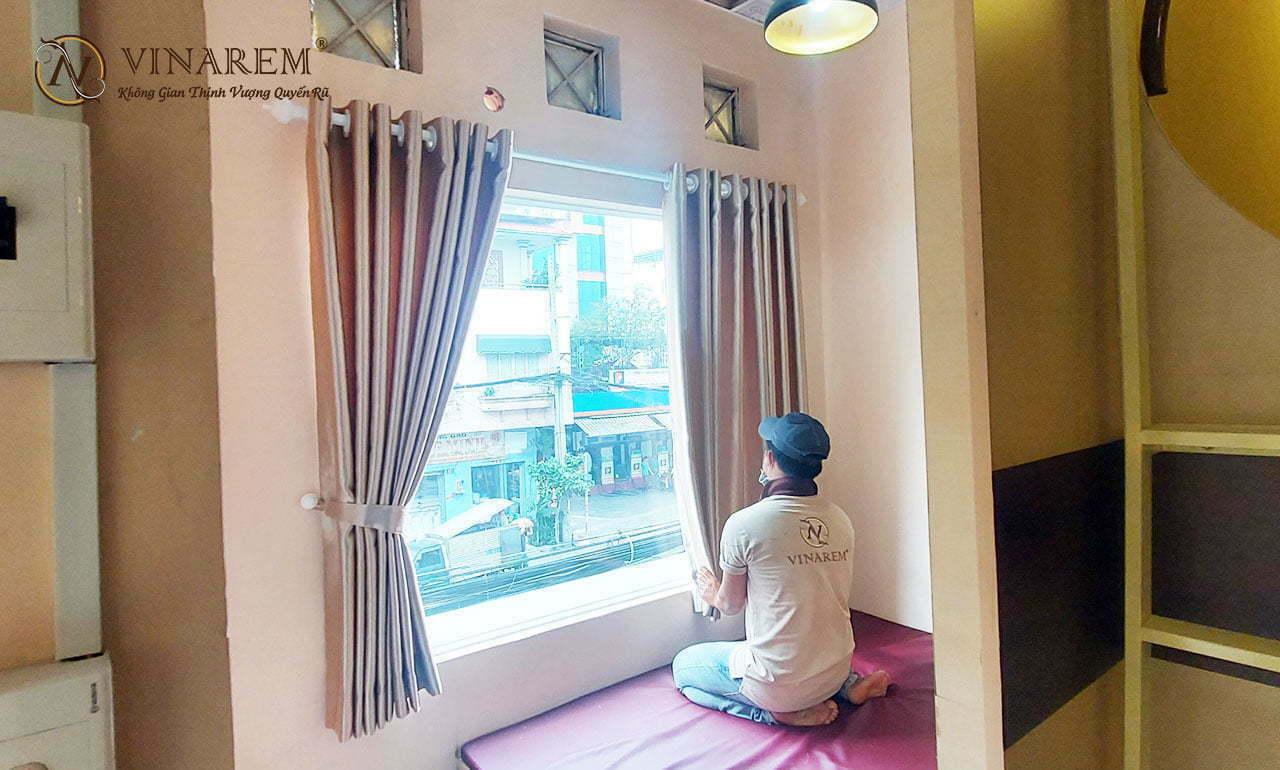 Rèm vải một lớp cho cửa sổ VPXT04 | Vinarem
