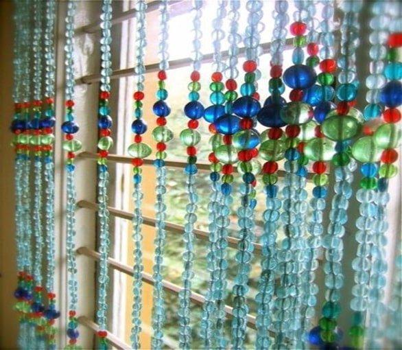 rèm hạt nhựa đẹp